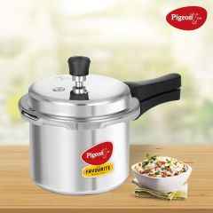 Pigeon Aluminium Pressure Cooker 3 Ltrs with Outer Lid